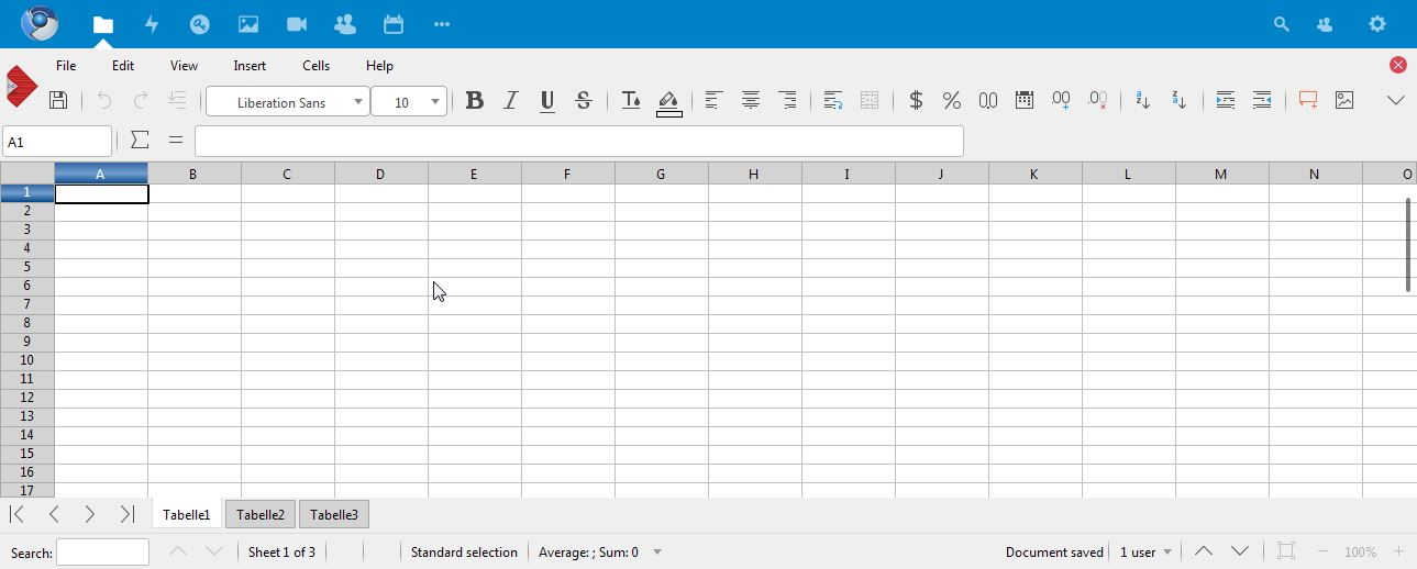 Editer Un Tableau Libre Office
